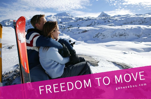 freedom to move - Geneva airport transfer to ski resorts
